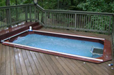 Inground Deck Pool