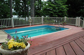 Inground Deck Pools