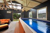 Garage Above Ground Swimming Pool