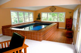 Above Ground Sunroom Pool