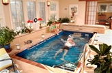 Inground Sunroom Pool Photo