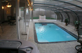 Inground Sunroom Swim Spa