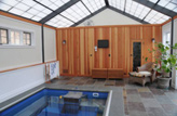 Inground Sunroom Swim Spas