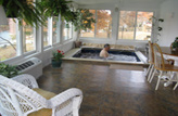 Inground Sunroom Swimming Pool