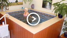 Aquatic Therapy for Spondylitis Video